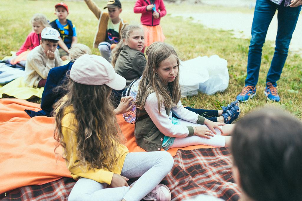 Jaunieji kurejai stovykla