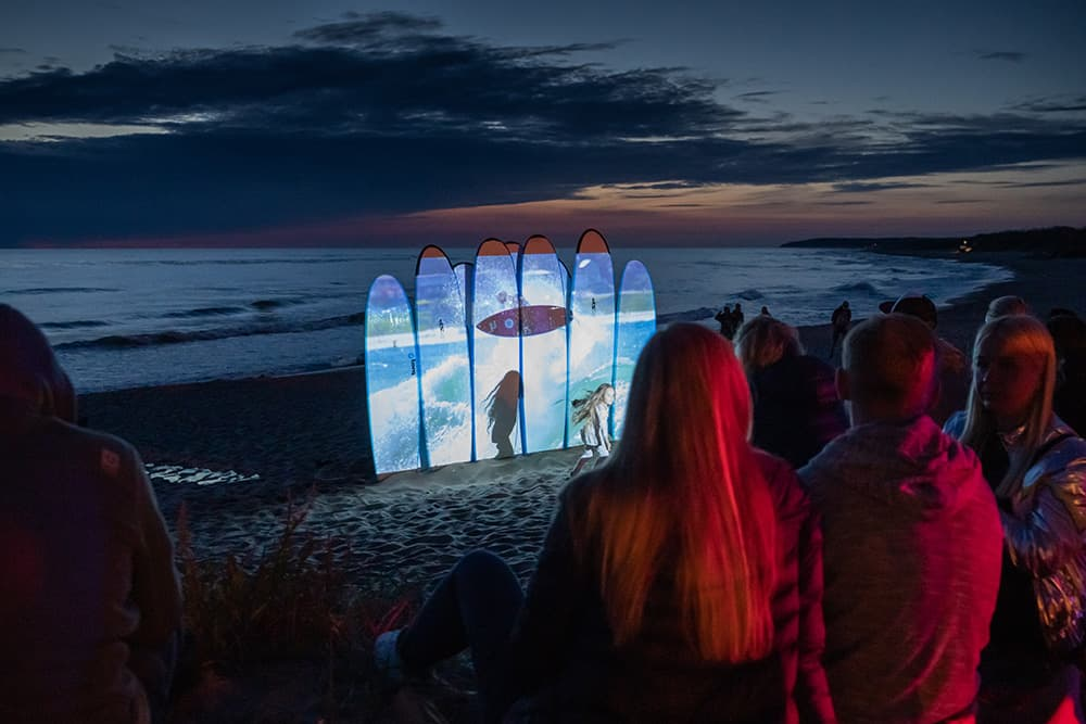 Surf camp vaikams