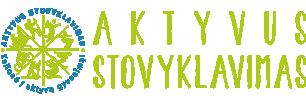 aktyvus stovyklavimas logo